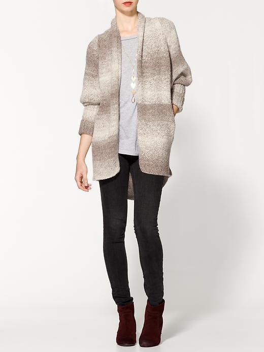 360 Sweater Beatriz Ombre Stripe Cardigan