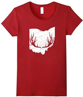 Ohio Deer Tshirt for Hunters and Nature Friends