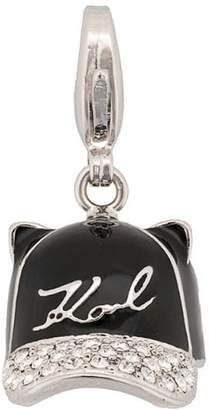Karl Lagerfeld Hat necklace charm