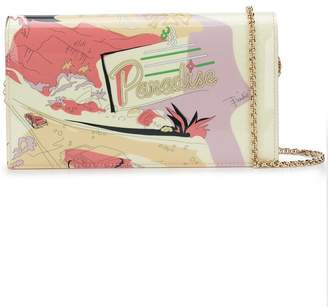Emilio Pucci printed chain wallet
