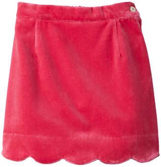 Oscar de la Renta Velvet Skirt