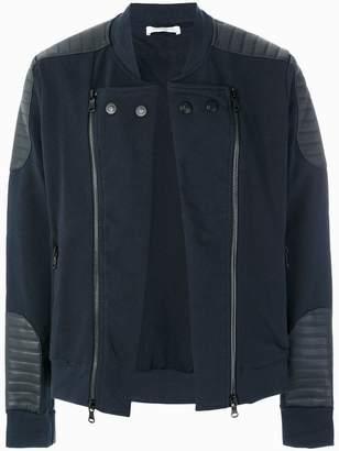 Pierre Balmain zipped biker sweater