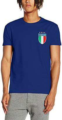 Toffs Retro Football Men's Italy Short Sleeve T-Shirt
