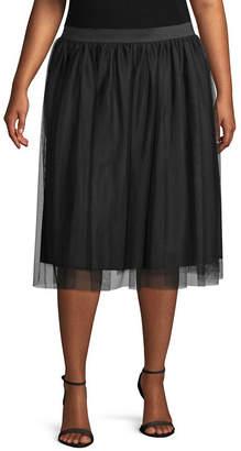 WORTHINGTON Worthington Tulle Skirt - Plus