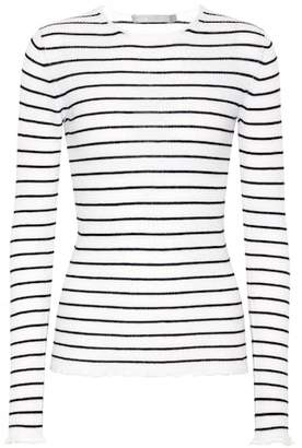 Vince Striped cashmere top