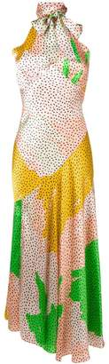 De La Vali dotted midi dress