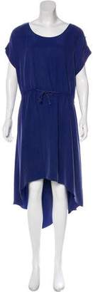 Robert Rodriguez Silk Short Sleeve Dress