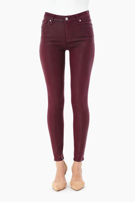 7 For All Mankind Bordeaux Ankle Skinny Jeans