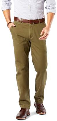 Dockers Big & Tall D3 Classic-Fit Washed Khaki Flat-Front Pants