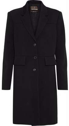Roberto Cavalli Lace-Up Wool-Blend Twill Coat