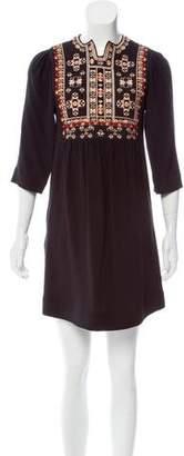 Isabel Marant Embroidered Mini Dress