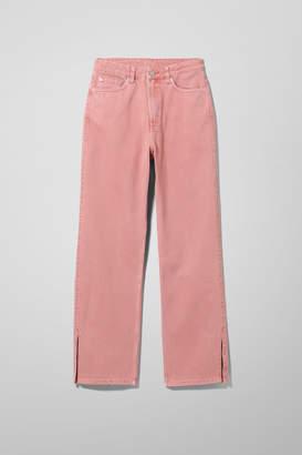 Weekday Row Re-made Rose Jeans - Orange