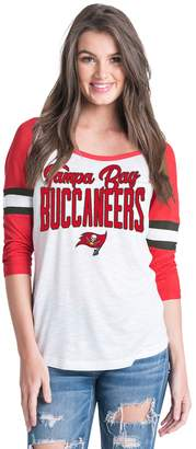 New Era Women's Tampa Bay Buccaneers Burnout Tee
