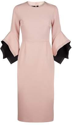 Roksanda Ronda Flare Midi Dress