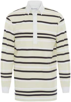J.W.Anderson STRIPED RUGBY JERSEY POLO SHIRT