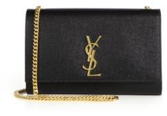 Saint Laurent Medium Kate Monogram Leather Chain Shoulder Bag $1,990 thestylecure.com