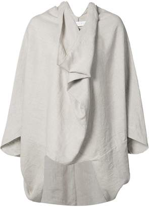 The Celect draped oversized top