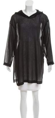 Calvin Klein Hooded Swim Cover-Up Tunic