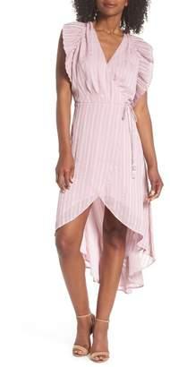 Chelsea28 Shadow Stripe Midi Dress