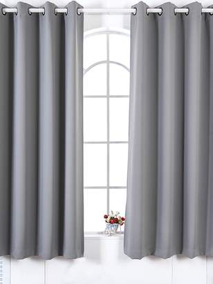 Elegant Home Fashions Lamia Premium Insulated Grommet Window Panels (Set of 2)
