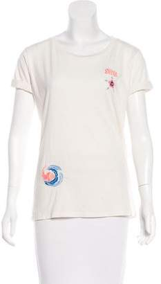 Mother Embroidered Short Sleeve Top w/ Tags