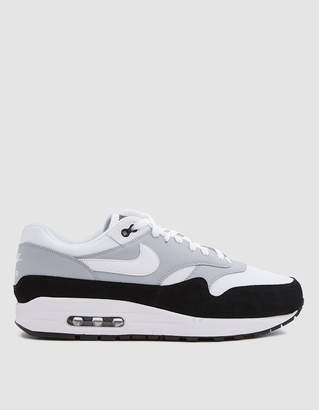 Nike Air Max 1 Sneaker in Wolf Grey/White