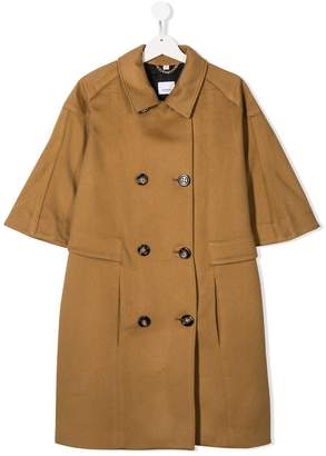 Burberry double breasted coat