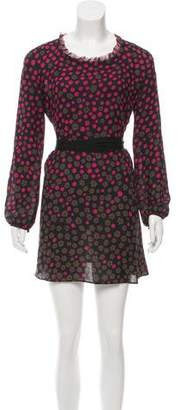 Nina Ricci Silk Patterned Dress