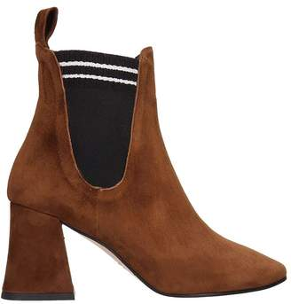 Marc Ellis Brown Suede Ankle Boots