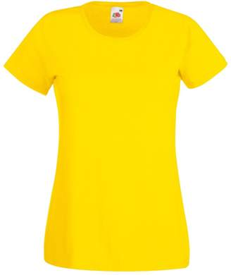 Fruit of the Loom Ladies/Womens Lady-Fit Valueweight Short Sleeve T-Shirt (S)