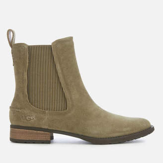 UGG Women's Hillhurst Suede Chelsea Boots