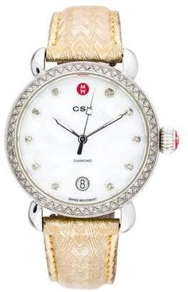 Michele CSX Diamond Mosaic Watch