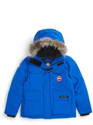 Canada Goose 'PBI Expedition' Waterproof Down Parka with Genuine Coyote Fur Trim