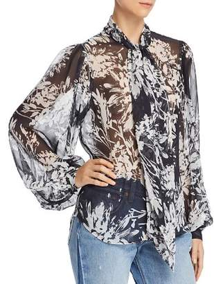 Equipment Cleone Floral Silk Blouse