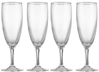 John Lewis The Basics Champagne Flutes, Set of 4