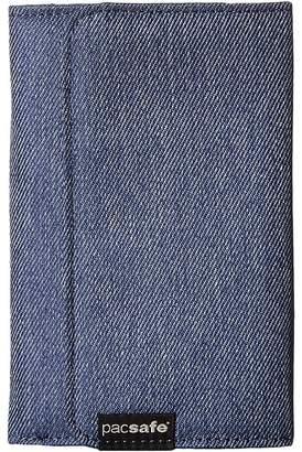 Pacsafe RFIDsafe LX100 RFID Blocking Wallet Wallet Handbags