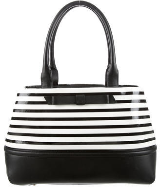 Kate Spade Kate Spade New York Patent Leather Striped Tote