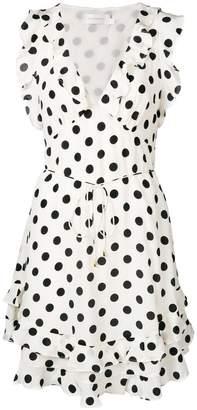 Zimmermann polka dot print dress