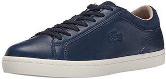 Lacoste Women's Straightset W1 Fashion Sneaker $92.97 thestylecure.com