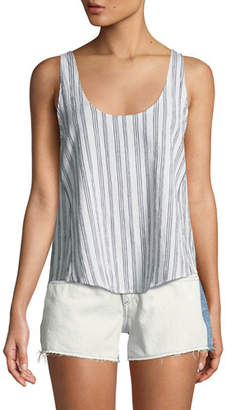 Rag & Bone Valley Striped Poplin Tank