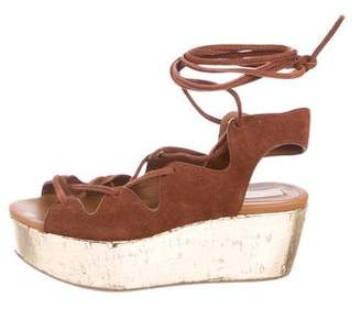 See by Chloe Suede Leather Wedges