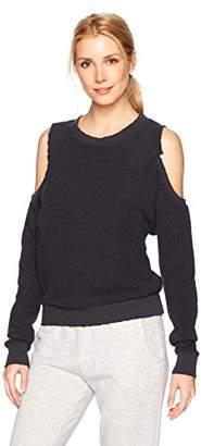 n:PHILANTHROPY Women's Maia Reversed Open Shoulder Sweatshirt