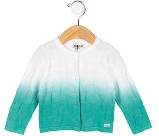 Kenzo Girls' Ombré Button-Up Cardigan w/ Tags