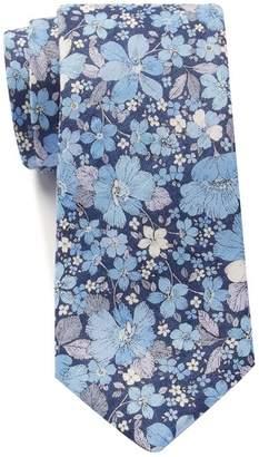 Tommy Hilfiger Linen Large Floral Tie