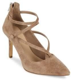 Saks Fifth Avenue Bernadet Leather Stiletto Pumps