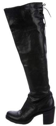 Fiorentini+Baker Leather Over-The-Knee Boots