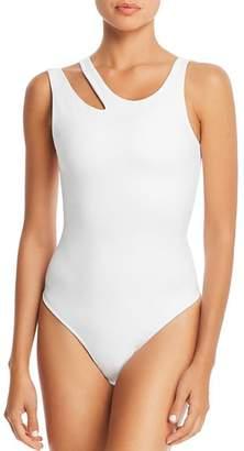 Hudson GAIAM X JESSICA BIEL Cutout Bodysuit
