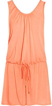 Heidi Klein - Bermuda Voile Mini Dress - Peach $230 thestylecure.com