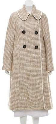 See by Chloe Tweed Double-Breasted Coat w/ Tags