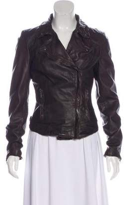 Muu Baa Muubaa Leather Moto Jacket